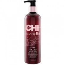 CHI Rose Hip Oil Protecting Conditioner - Кондиционер с маслом розы и кератином 355 мл.