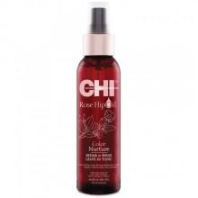 CHI Rose Hip Oil Repair & Shine Leave-In Tonic - Несмываемый спрей с маслом розы и кератином 118 мл.