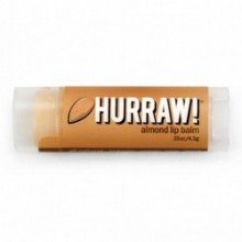 Hurraw Balm Almond - Бальзам для губ, Миндаль, 4,3 мл.