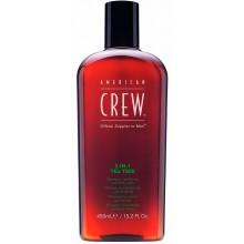 AMERICAN CREW 3-IN-1 TEA TREE - Средство по Уходу за Волосами и Телом на Основе Чайного Дерева 3 в 1, 450мл