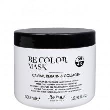 Be hair BE COLOR MASK - Маска-фиксатор цвета для окрашенных волос 500мл