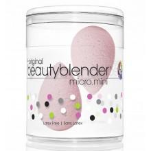 beautyblender micro.mini - Мини-версия спонж для макияжа НЕЖНО-РОЗОВЫЙ 2шт