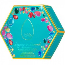 beautyblender Drippin in Diamonds - Подарочный набор 2 спонжа + 2 мини мыла