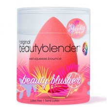 beautyblender beauty.blusher be Cheeky - Спонж для нанесеия румяны ГРЕЙПФРУТОВЫЙ 1шт