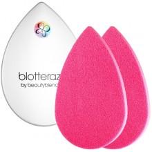 beautyblender Blotterazzi - Набор из 2 Розовых Спонжей и Футляра-зеркала