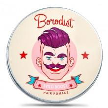Borodist Hair Pomade Wild Boost - Помада для укладки волос ДИКИЙ ИМПУЛЬС 100гр