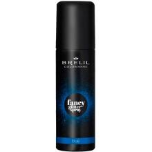 BRELIL Professional COLORIANNE fansy glitter spray BLUE - Фантазийные спрей-блески для волос СИНИЙ 75мл