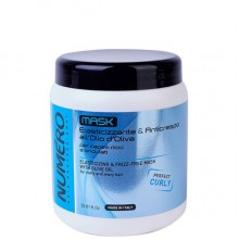 BRELIL Professional NUMERO ELASTICIZING & FRIZZ-FREE MASK - Маска для вьющихся и волнистых волос 1000мл
