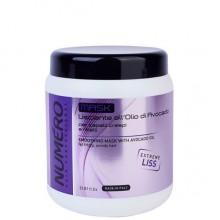 BRELIL Professional NUMERO SMOOTHING MASK - Маска разглаживающая для волос 1000мл
