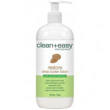 clean+easy Restore Shea Butter Lotion - Лосьон-кондиционер д/массажа 473мл