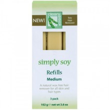clean+easy Simply Soy Medium - Ср-во для эпиляции без воска на основе сои в картушах 34гр