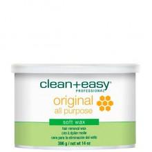 """clean+easy Warm Wax Original - Тёплый воск в банке """"Оригинальный"""" 396гр"""