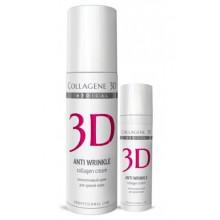 Collagene 3D Cream ANTI WRINKLE - Крем для лица с плацентолью, коррекция возрастных изменений для зрелой кожи 150мл