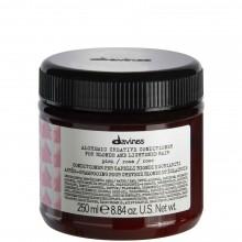 Davines ALCHEMIC CONDITIONER (pink) - Кондиционер «АЛХИМИК» для Натуральных и Окрашенных Волос (РОЗОВЫЙ) 250мл