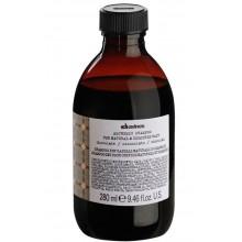 Davines ALCHEMIC SHAMPOO (chocolate) - Шампунь «АЛХИМИК» для Натуральных и Окрашенных Волос (ШОКОЛАД) 280мл