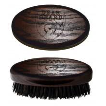 Davines Dear Beard Mini Brush - Щетка для усов и бороды из древесины венге 8 x 4см
