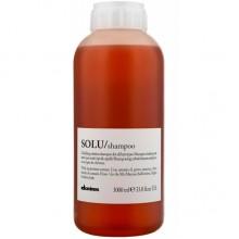 Davines SOLU/ shampoo - Шампунь для глубокого очищения волос и кожи головы 1000мл