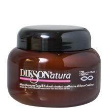 DIKSON NATURA Mask with Rose Hips - Маска с ягодами красного шиповника для окрашенных и химически обработанных волос 250мл
