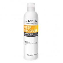 EPICA Professional DEEP RECOVER SHAMPOO - Шампунь для поврежденных волос с маслом сладкого миндаля и экстрактом ламинарии 300мл