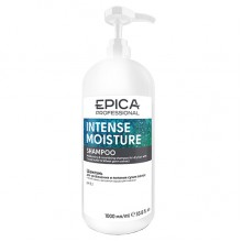 EPICA Professional INTENSE MOISTURE SHAMPOO - Увлажняющий шампунь для сухих волос с маслом какао и экстрактом зародышей пшеницы 1000мл