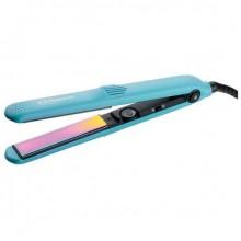 GAMMA PIU 120 RAINBOW ANTISTATIC - Щипцы-выпрямители для волос Радужный Антистатик ГОЛУБЫЕ 26 х 110мм