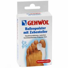 GEHWOL Ballenpolster mit Zehenteiler - Гель-корректор и накладка на большой палец 1шт
