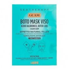 """GUAM SEATHERAPY BOTO MASK VISO - Маска для лица """"Ботокс эффект"""" с гиалуроновой кислотой и водорослями 20гр"""