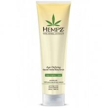 HEMPZ Body Scrub Age Defying Glycolic Herbal - Скраб для Тела Антивозрастной 265мл