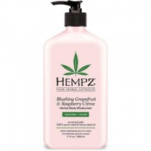 HEMPZ HERBAL Body Moisturizer Blushing Grapefruit Raspberry - Молочко для Тела Грейпфрут и Малина 500мл