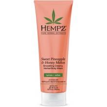 HEMPZ Body Wash Sweet Pineapple & Honey Melon Herbal - Гель для душа Ананас & Медовая Дыня 250мл