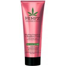 HEMPZ PURE HERBAL Blushing Grapefruit & Raspberry Creme Conditioner - Кондиционер растительный Грейпфрут и Малина для сохранения цвета и блеска окрашенных волос 265мл