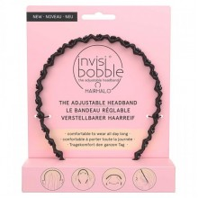 Invisibobble HAIRHALO True Dark Sparkle - Ободок для волос цвет Чёрный 1шт