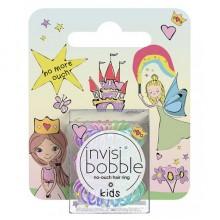 Invisibobble KIDS magic rainbow - Резинка-браслет для волос с подвесом, цвет Радуга 3шт