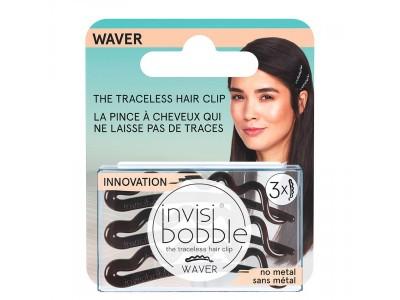 invisibobble WAVER Pretty Dark - Заколка для волос с подвесом 3шт