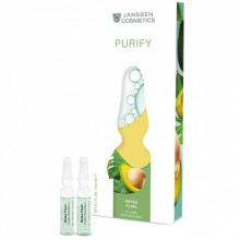 JANSSEN Cosmetics Ampoules Couperose Fluid - Сосудоукрепляющий концентрат для кожи с куперозом (в ампулах) 7 х 2мл