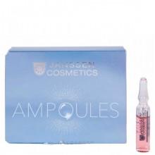 JANSSEN Cosmetics Ampoules Eye Flash Fluid - Увлажняющая и восстанавливающая сыворотка в ампулах для контура глаз 3 х 1.5мл