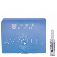 JANSSEN Cosmetics Ampoules Couperose Fluid - Сосудоукрепляющий концентрат для кожи с куперозом (в ампулах) 3 х 2мл