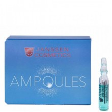 JANSSEN Cosmetics Ampoules Hyaluron Fluid - Янссен Ультраувлажняющая Сыворотка с Гиалуроновой Кислотой 3 х 2мл