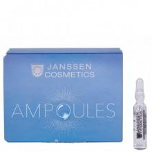 JANSSEN Cosmetics Ampoules Instant Soothing Oil - Мгновенно успокаивающее масло для чувствительной кожи 3 х 2мл