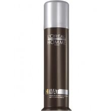 L'Oreal Professionnel HOMME MAT PASTE - Матирующая Крем-Паста для Укладки Волос (фикс 4) 80мл