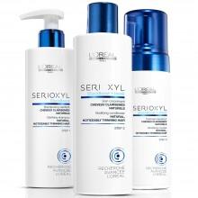 L'Oreal Professionnel SERIOXYL Kit Fuller Hair 1 - Набор 1 для натуральных волос 250 + 250 + 125мл
