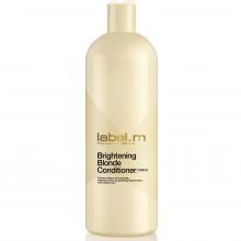 Label.M Brightening Blonde Conditioner - Кондиционер Осветляющий для блондинок, 1000 мл.