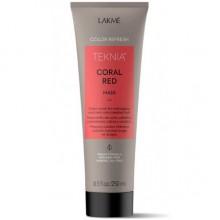 LAKME TEKNIA NEW! COLOR REFRESH CORAL RED MASK - Маска для обновления цвета красных оттенков волос 250мл