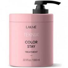 LAKME TEKNIA NEW! COLOR STAY TREATMENT - Маска для защиты цвета окрашенных волос 1000мл