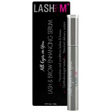 LASHEM All Eyes on You Lash & Brow Enhancing Serum - Сыворотка для роста и укрепления ресниц и бровей с пептидами 3мл