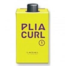 Lebel Plia Curl 1 - Лосьон для химической завивки волос средней жесткости. Шаг1, 400 мл