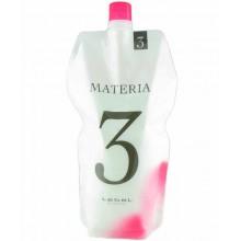 Lebel Materia Oxy 3% Оксидант для смешивания с краской Materia 1000 мл