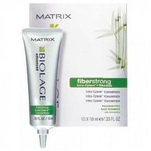 MATRIX BIOLAGE fiberstrong Concentrate - Концентрированная сыворотка для укрепления ломких и ослабленных волос 10 х 10мл
