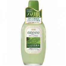 Meishoku GREEN Plus Aloe Astringent - Лосьон увлажняющий и подтягивающий кожу лица с АЛОЭ 170мл