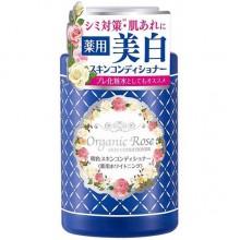Meishoku Organic Rose Skin Conditioner - Лосьон-кондиционер с экстрактом ДАМАССКОЙ РОЗЫ 200мл